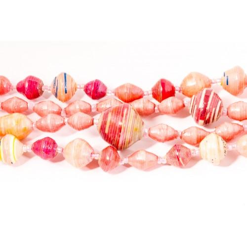 Pink helmikaulakoru