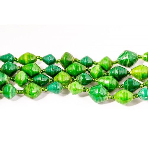 Multi Green helmikaulakoru
