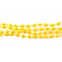 Straw yellow helmikaulakoru