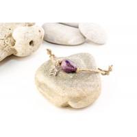 Boho-rannekoru Purple